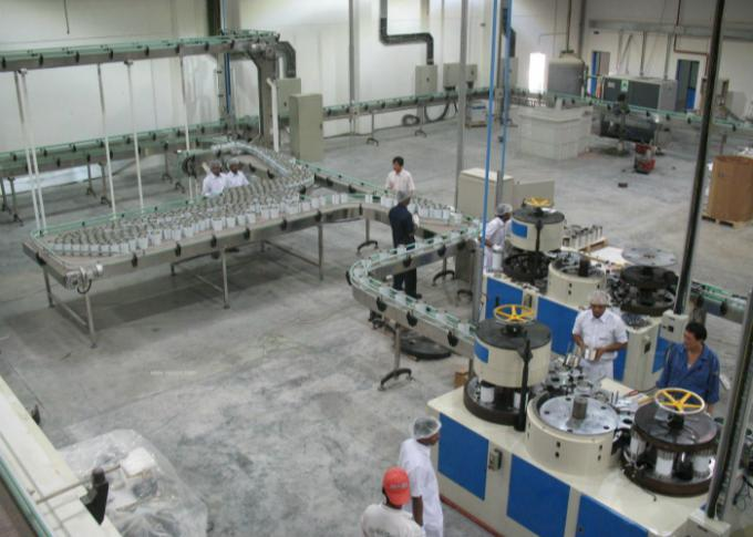 PLC Control Beverage Can Production Line Automatic Conveyance / Package Device