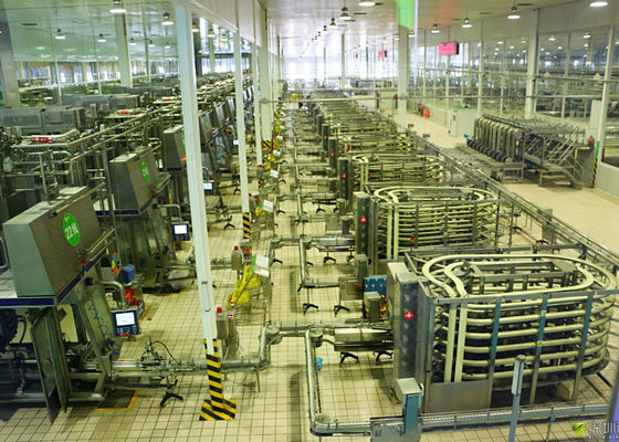 China Automated Brick - Shape Packaged Dairy Production Line For Pure / Reconstituted Milk supplier