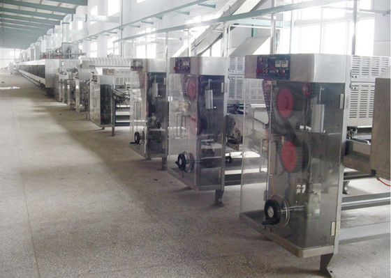 China Automated Food Production Line Making Biscuit / Cookies / Crisps / Doughnuts supplier