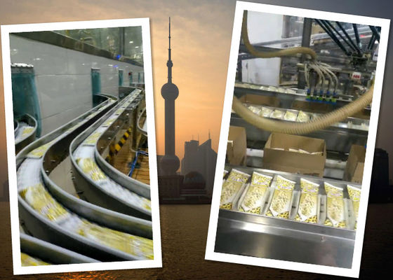 China Automatic Ice Cream Production Line Packing Conveyor Systems supplier