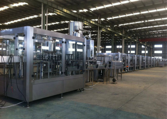 China Automated Fruit Juice Beverage Production Line Packaging Conveyor Systems supplier