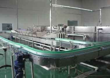 China Durable Carbonated Soft Drink Machine Production Line For Two / Three - Piece Cans supplier
