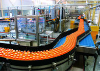 China Fruit Juice Beverage Production Line Packing Conveyor Systems High Efficiency factory