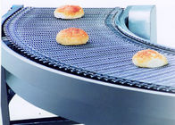 Net Chain Curved Automated Conveyor Systems , Material Handling Equipment Conveyor