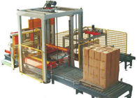 Low Position Automatic Palletizer Machine , Auto Carton Palletizer Whole Stack Output