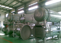 China Retort Sterilizer Machine Autoclave Water Circulation Pipeline Food Industrial Applied company