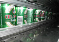 Ring - Pull Cans Wine Production Line , Beer Making Equipment Further Processing