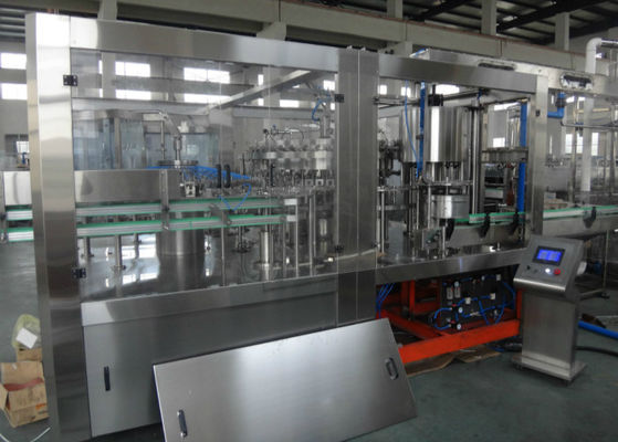Glass Bottle Beverage Production Line , Juice Production Machine / Line ISO Marked