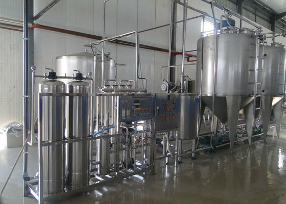 Bailey Package Dairy Production Line , Milk Product Making Machine Full / Semi Auto