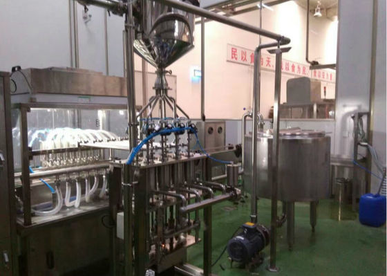 PE Bottle Milk Production Machine Processing Equipment Full Automatic Mode
