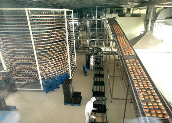 Bread Cake Food Production Line , Food Production Equipment / Machines