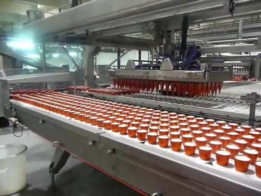 Fully Automatic Ice Cream Cone Production Line Packaging Conveyor Equipment