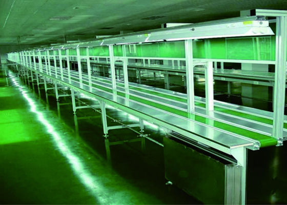 Industrial Automated Conveyor Systems , Assembly Production Line Conveyor Systems