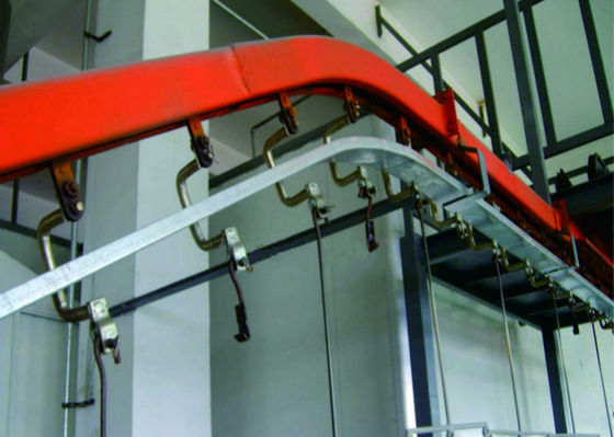 Smart Chain Automated Conveyor Systems , Drag Chain Conveyor Belt High Stability