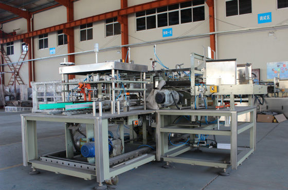 Side Load Automatic Case Packer Machine , Wrap Around Case Packer Product Arrangement