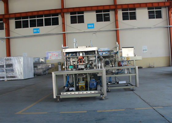 Automatic Straight - Line Wrapping Case Packing Equipment For Bottles / Cans