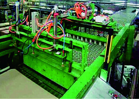 Metal Empty Can Depalletizer / Palletizer High Speed Stacker Machine Application
