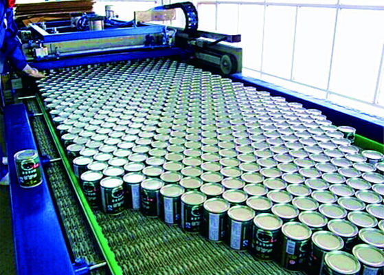 Full Can Automatic Palletizer Machine , Container Palletizing Systems ISO Marked