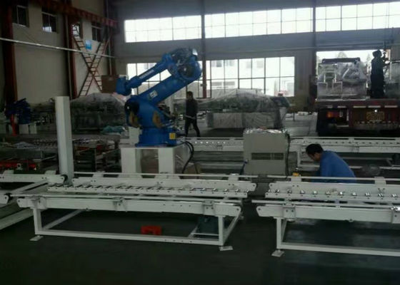 Automatic Robotic Palletizing Machine Systems