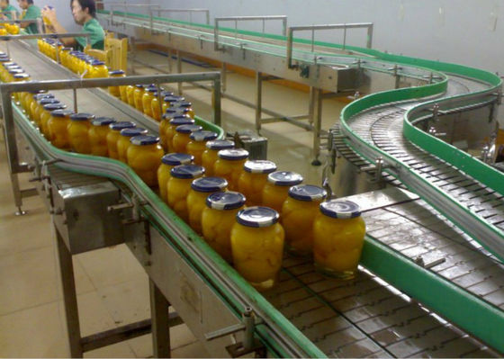 Glass Bottle Canned Food Production Line Fruits Vegetables Processing System