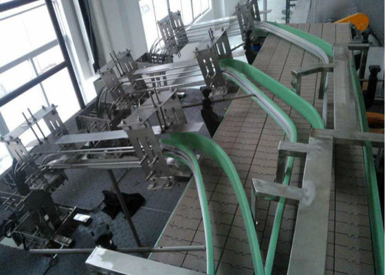 Tinplate Meat Canned Food Production Line , Automatic Packing System Stable Operation