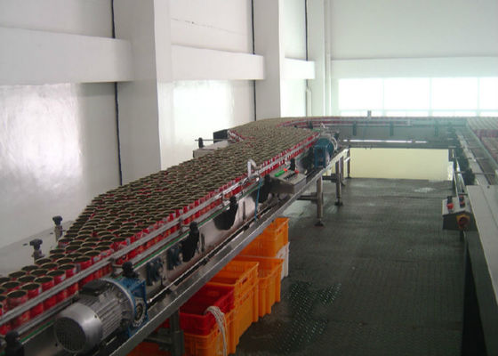 Auto Canning Production Line Salted / Sardine Fish Fish Processing Line Plant Equipment