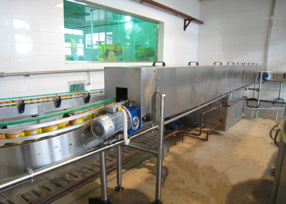 Halal Chicken Canned Food Production Line Poultry Processing Machinery For Iron Tins