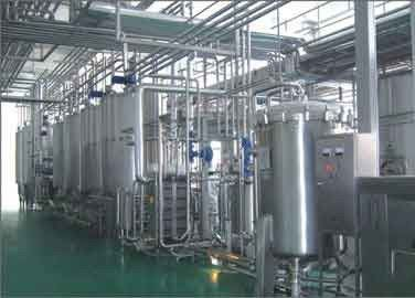 Almond Milk Beverage Production Line , Beverage Drink Manufacturing Equipment