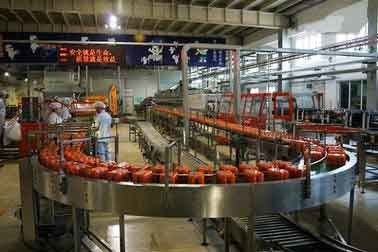 Beverage Automatic Production Line Fruit / Vegetable For Juice Blends
